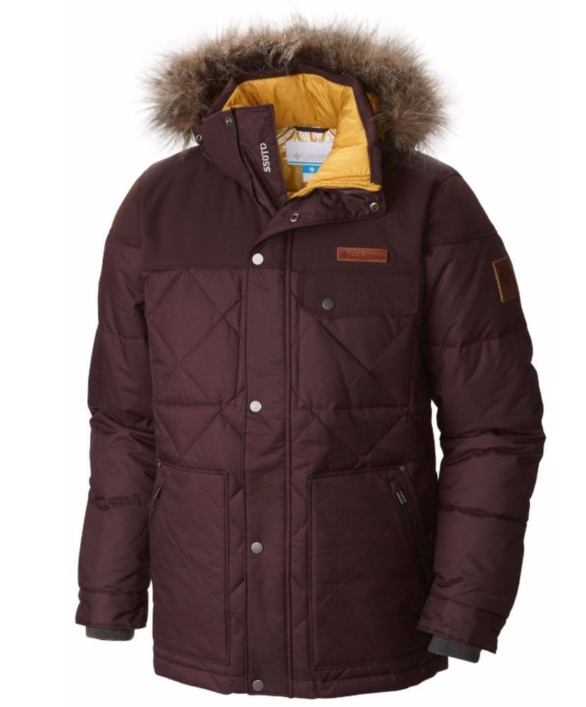 ad71a911d COLUMBIA Barlow Pass 550 TD TurboDown Quilted Jacket Down Winter ...