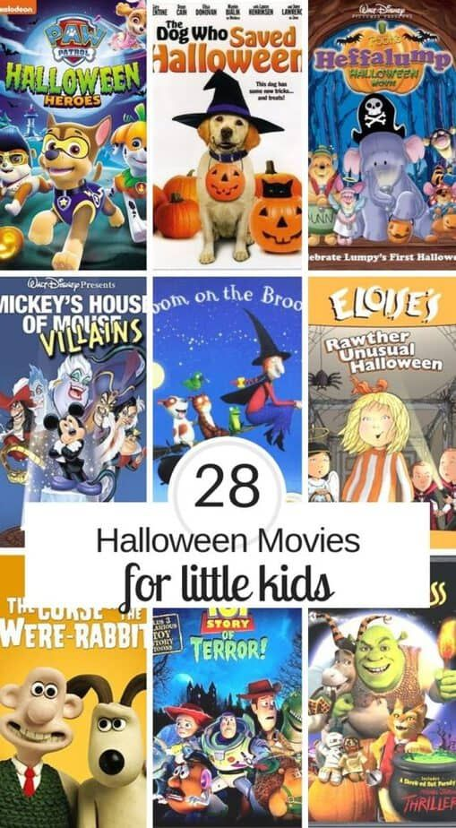 Halloween Movies for Little Kids 6 and Under Halloween