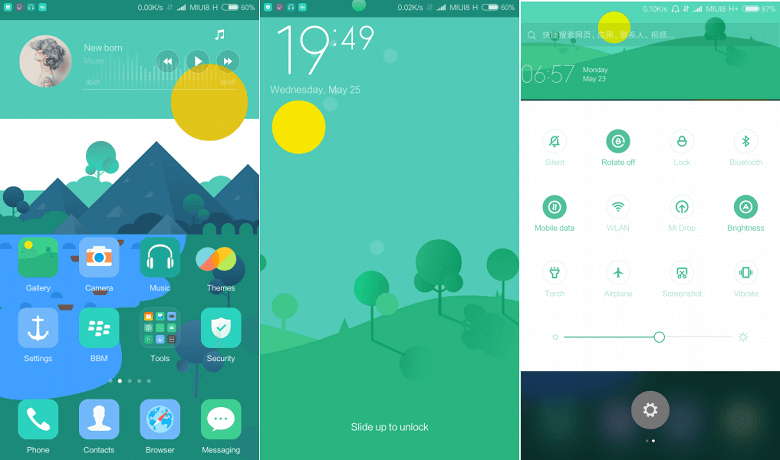 Elek Gan: A Beautiful MIUI 8 Theme for Mi | Gadgets How To's and