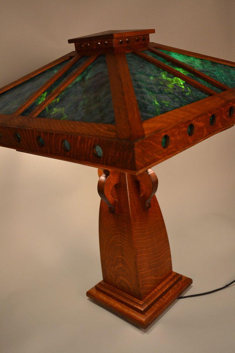 Limbert Lamp Arts crafts style, Craftsman furniture