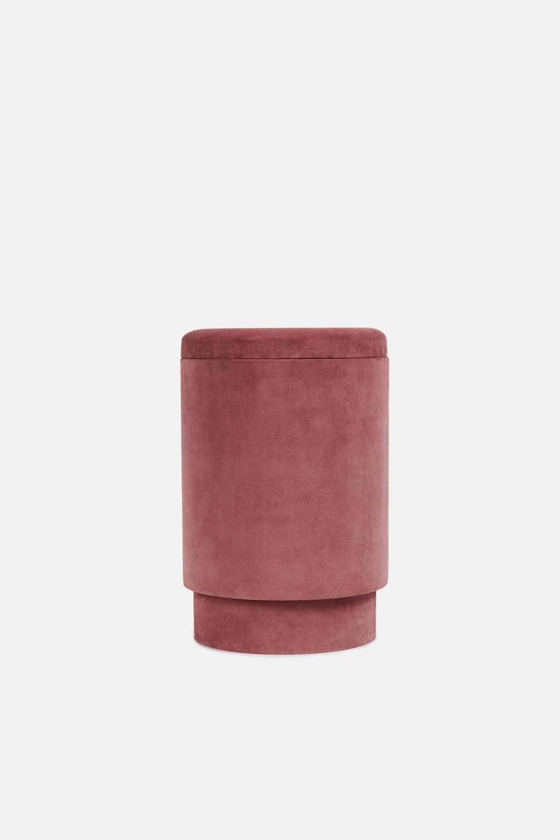 Seats And Sofas Genk Suede Storage Stool Vieux Rose Apartment Pinterest Storage