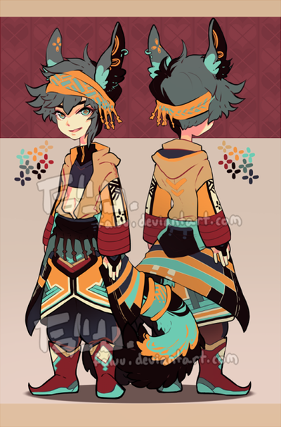 Adoptable Auction 01 (open) by faluu on deviantART
