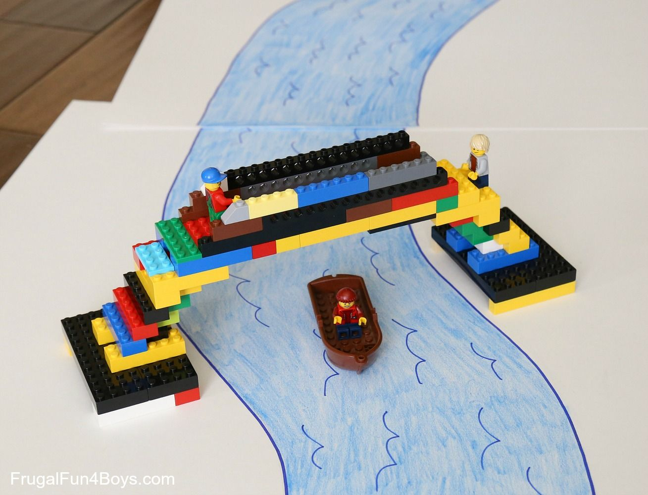 Image result for lego bridge challenge