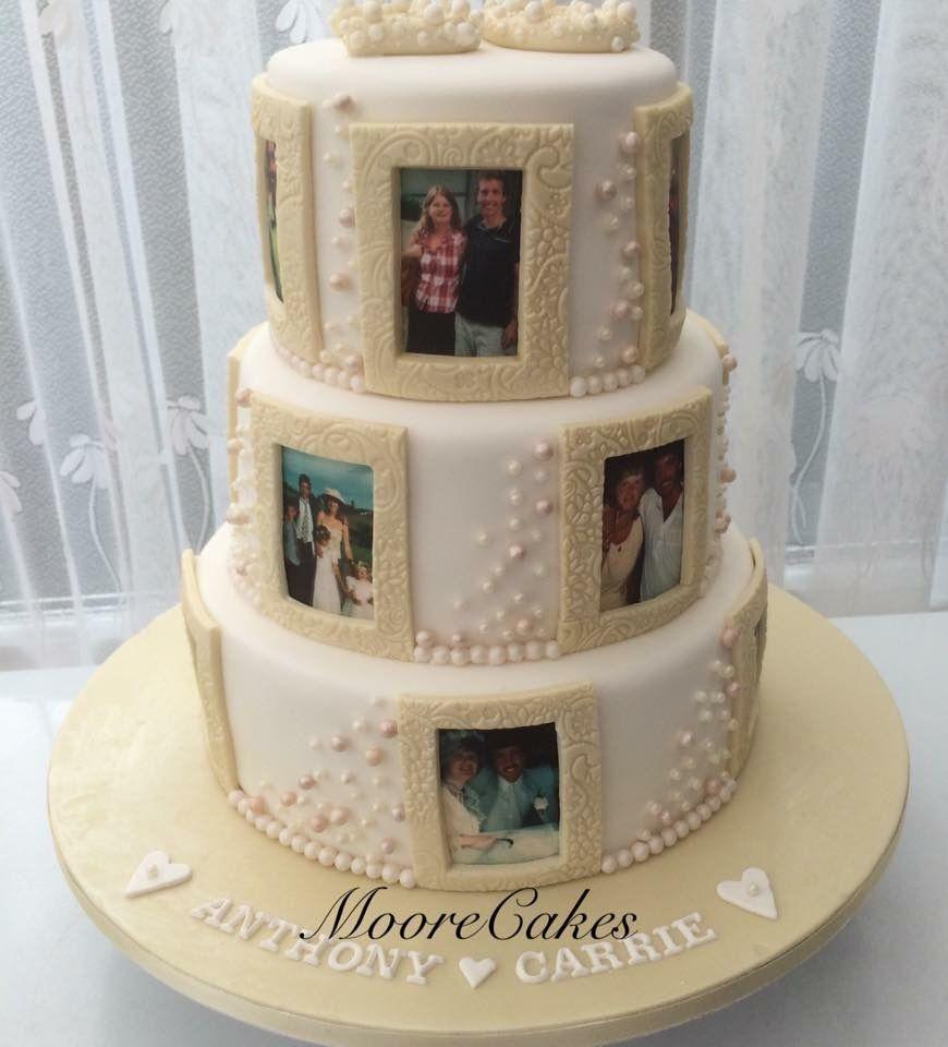 photo frame cake design Photo Frame Cake 💗  Cake frame, Grandma cake, Cake