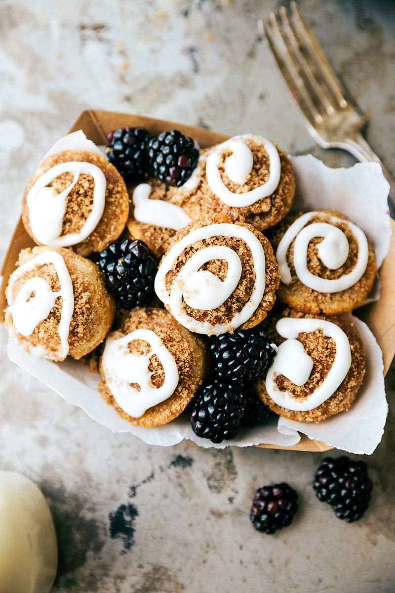 Easy cinnamon roll pancake poppers easy to make miniature pancake easy cinnamon roll pancake poppers easy to make miniature pancake poppers that taste ccuart Images