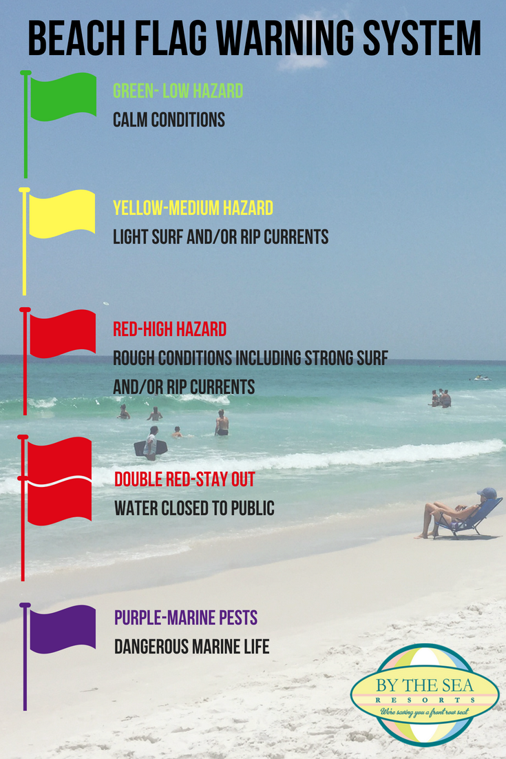 Going On A Beach Vacation Soon Make Sure You And Your Family Knows The Flag Warning System Before Heading Into Water Panamacitybeach