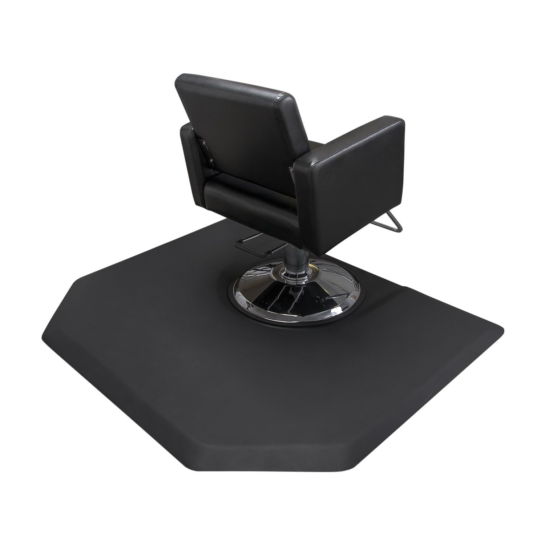 Hexagon 4x5 Salon Anti Fatigue Mat Round Impression Alternative Product Image 3 Hexagon Salon Chairs Salon Furniture