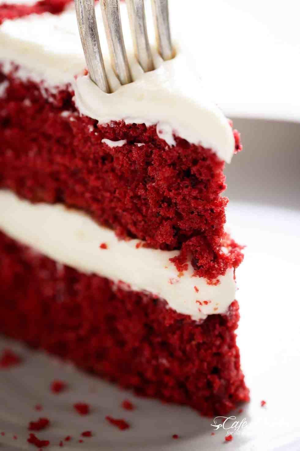 Red Velvet Cake Cafedelites Com Best Red Velvet Cake Red Velvet Cake Red Velvet Cake Recipe