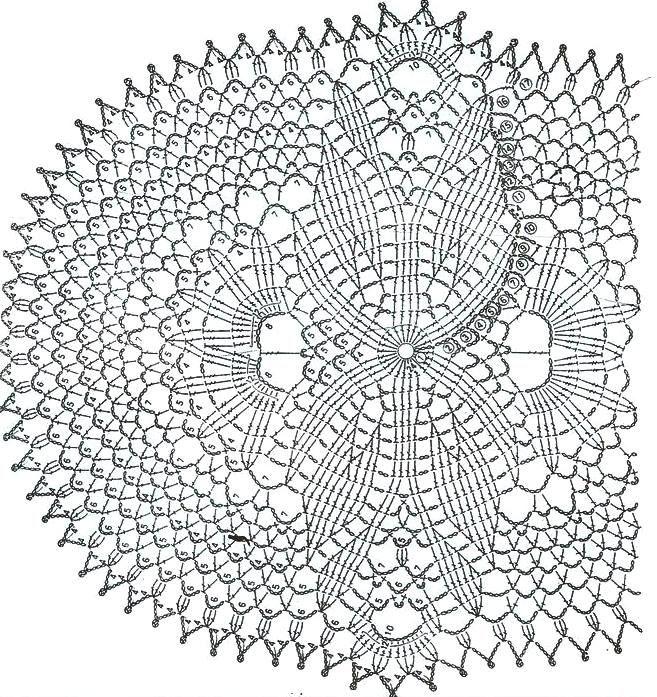 crochet doily pattern … | Pinteres…