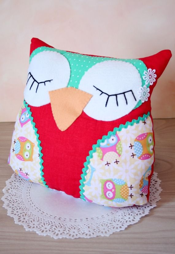 Como hacer un almohadon con forma de buho imagui - Cojines infantiles originales ...