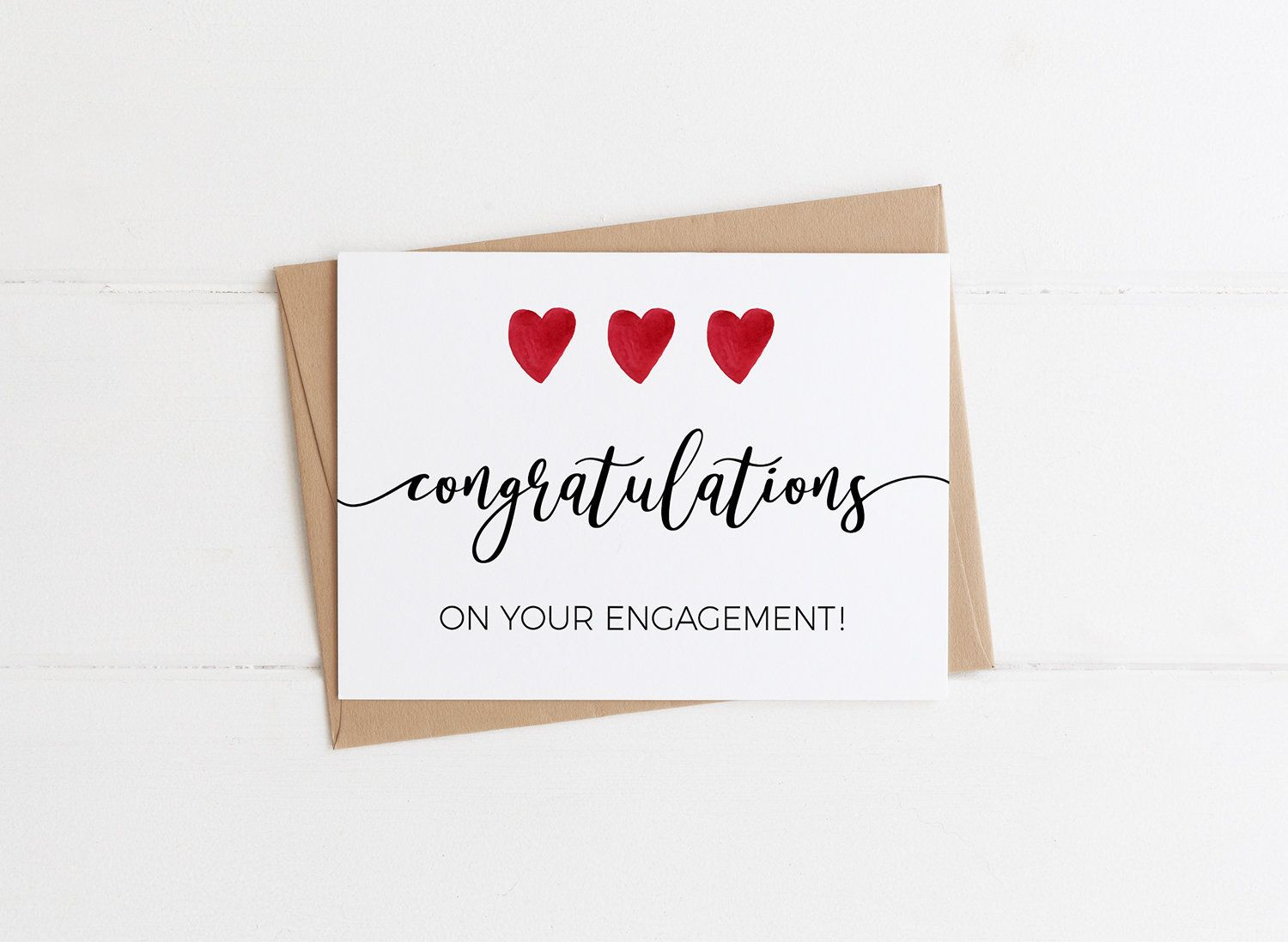 Congratulations On Your Engagement Elegant Engagement Card Congrats On Your Engagement Eng Engagement Cards Congrats On Your Engagement Engagement Greetings