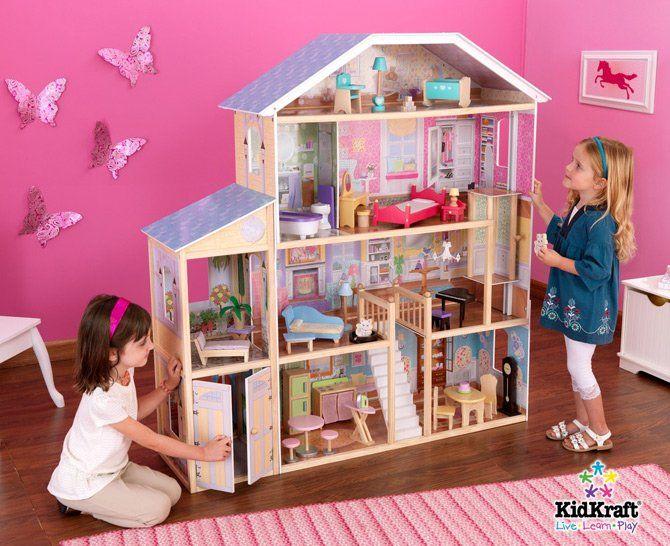 10 Awesome Barbie Doll House Models Diy Barbie House Barbie Doll House Mansion Dollhouse