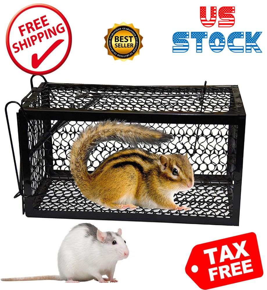 Details about high quality rodent cage catch trap for rats