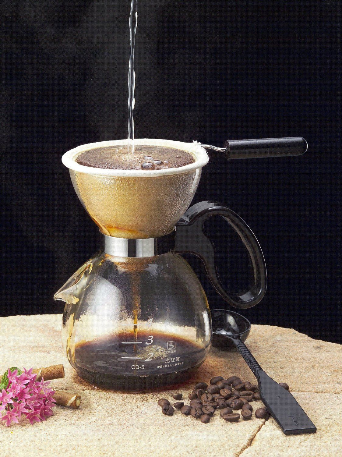 Yama Pour Over Coffee Maker, 20oz. To use with cloth