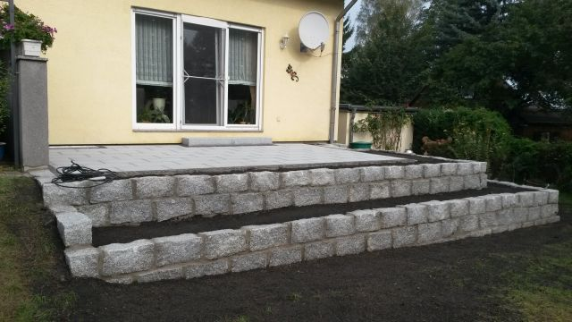 Garten Mauer Für Terrassen   Google Suche