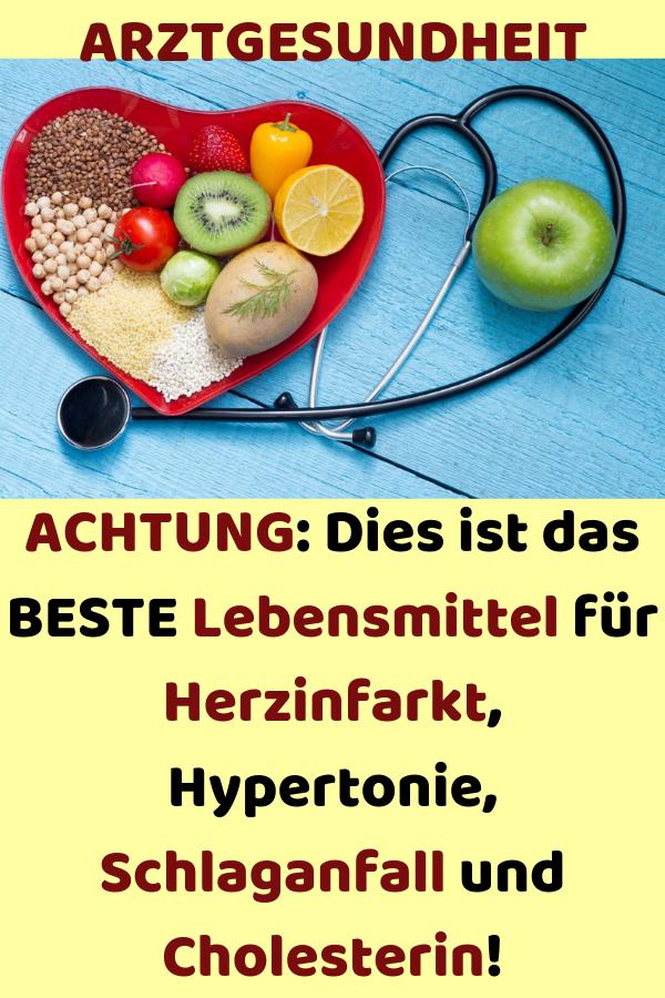 Hypertonie und Cholesterin-Diät