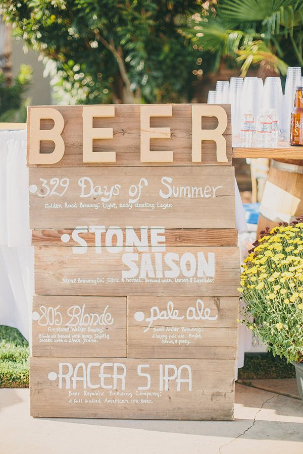 Yucaipa Wedding With Craft Beer