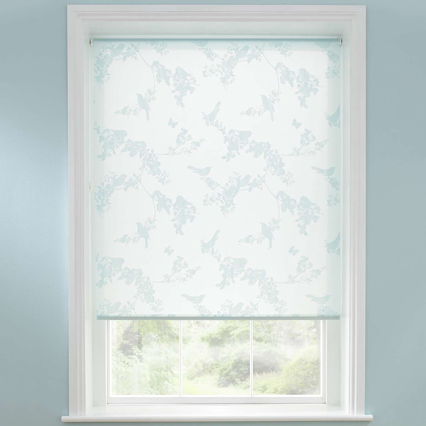 Beautiful Birds Sheer Roller Blind Dunelm Living Room
