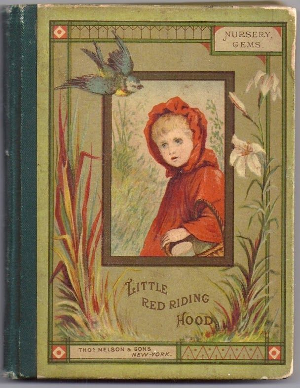 Antique Little Red Riding Hood Book By W Gunston Illustrated By