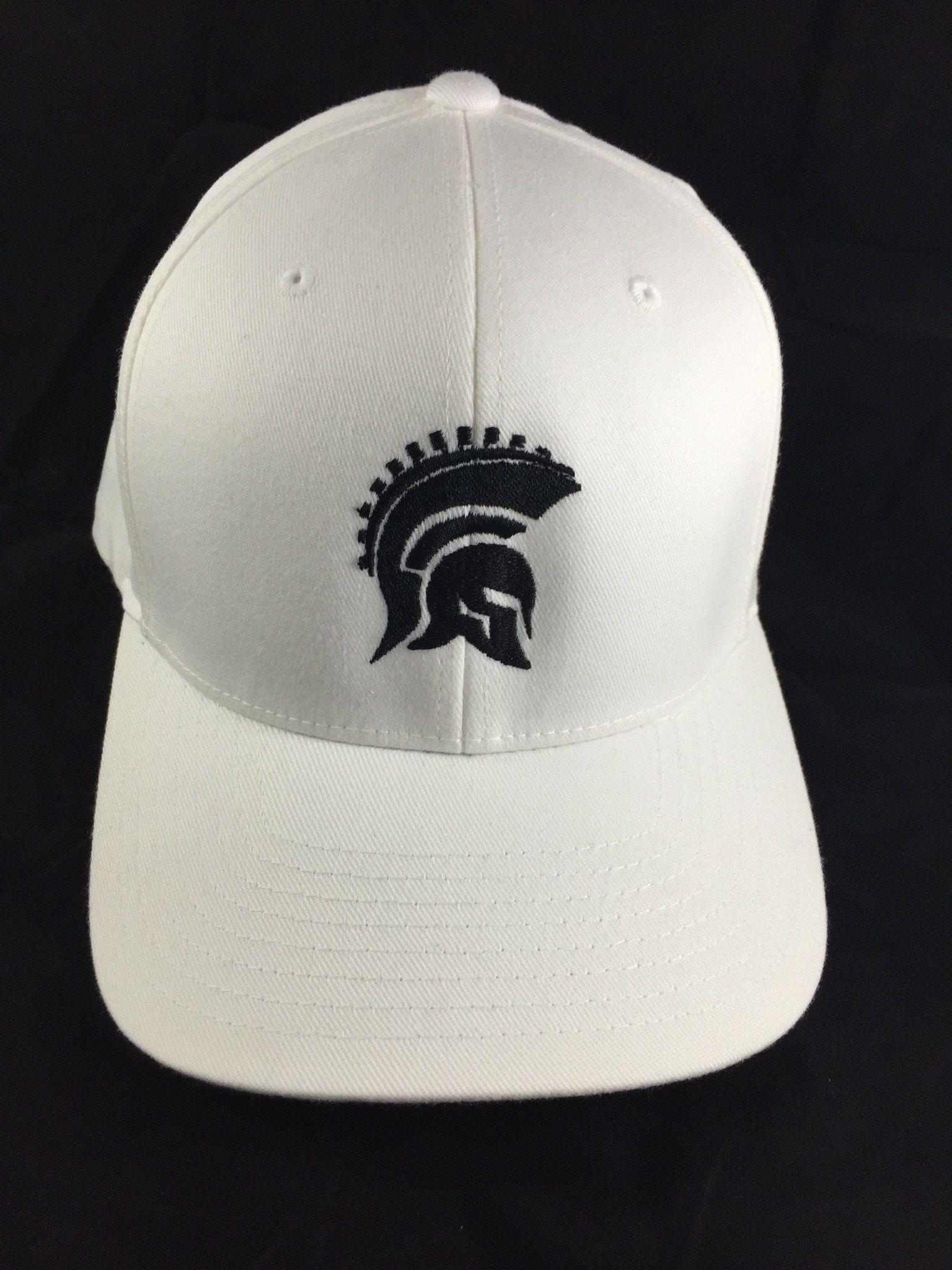 8425e5ad6ff White Spartan Ball Cap