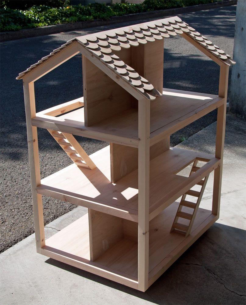 diy dollhouse from ana white | Diy barbie furniture, Diy ...
