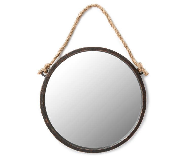 Round Hanging Wall Mirror With Rope 19 Big Lots Round Mirror With Rope Black Round Mirror Hanging Wall Mirror