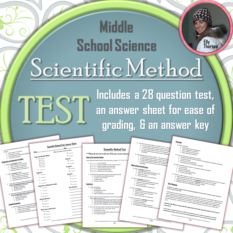 Science Physics Methods: Elly Thorsen's Middle School