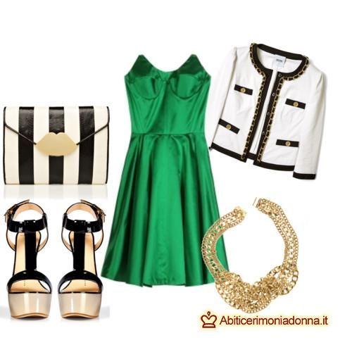 detailed look 239e1 ff287 Abito da cerimonia verde smeraldo: consigli su come ...