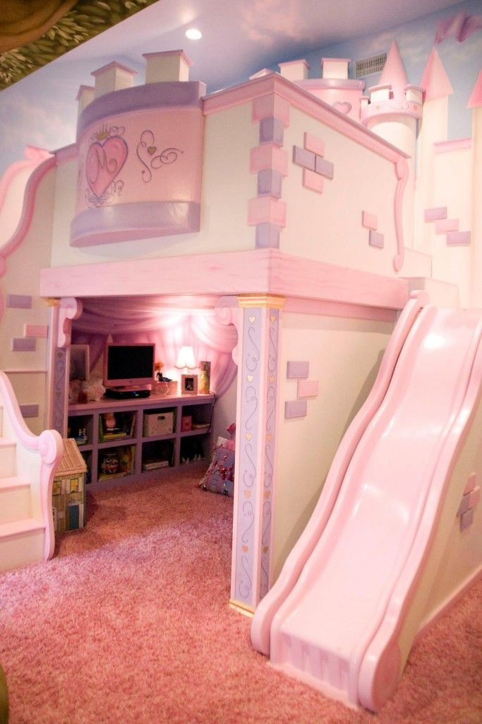 Princess Bedroom Pink Decor Ideas With
