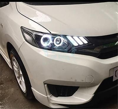 2X pour HONDA INSIGHT JAZZ FIT Blanc DEL Number Plate Light Lampes