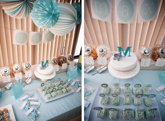 Anniversaire un an garcon theme elephant 2 anniversaire pinterest - Decoration bapteme garcon ...
