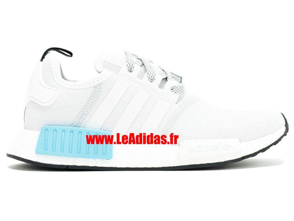 0b15d903f10 Adidas NMD R1 - Originals Adidas Pas Cher Pour Homme Femme gris blanc-