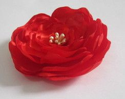 Tic-tac Flor Hibiscus Vermelha