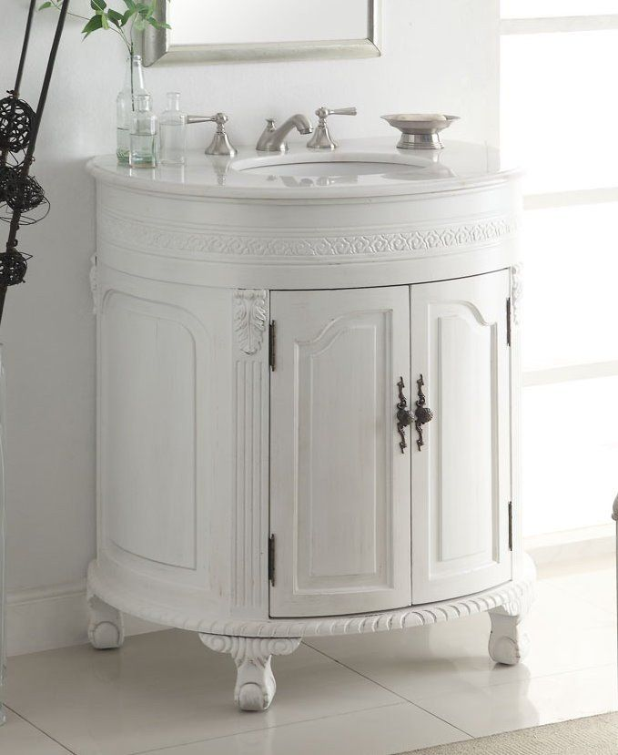 32 Attractive Clic Versailles Bathroom Sink Vanity Model Cf 2869w Aw Dimensions X 22 36 H The Antique White Single Comes With