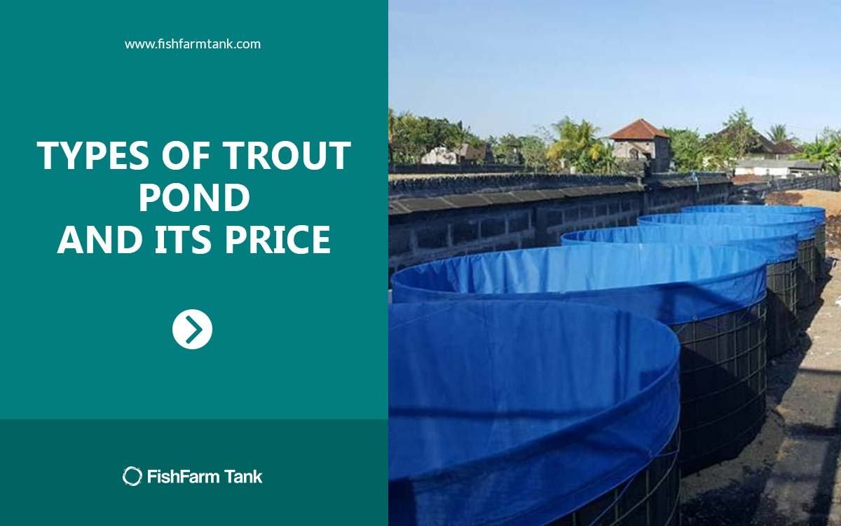 Types of Trout Pond and Its Price Fish farming, Pond