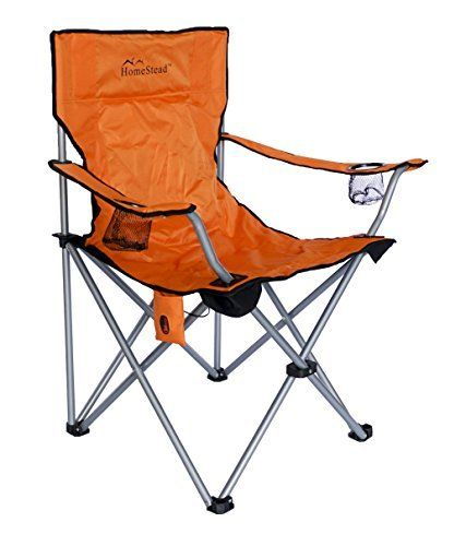 Introducing Homestead Heated Oversized Folding Camp Chair For Camping Foldable Portable Heavy Duty Lawn Camping Chairs Folding Camping Chairs Camping Furniture