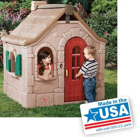 Step2 Naturally Playful Storybook Cottage Storybook Cottage Playhouse Outdoor Step2