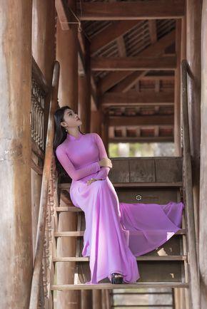 Ao Dai Trang | Ao Dai | Pinterest | Vietnamese traditional