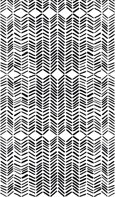 Marie Yates Black And White Fabric Chic Pattern Textiles