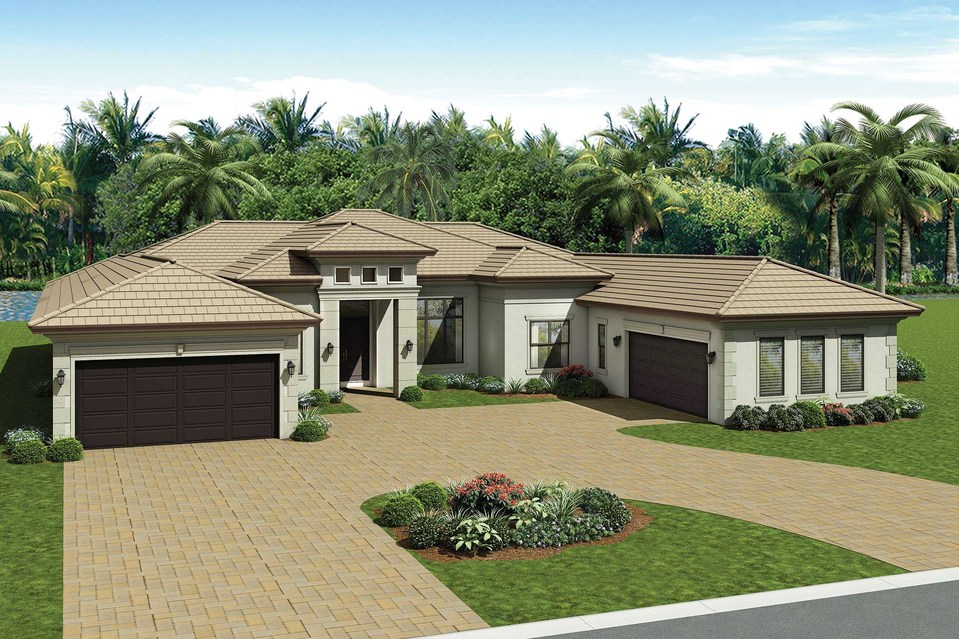 Seven Bridges Windsor Transitional Upgrade Florida House Plans Florida Real Estate Mediterranean Homes
