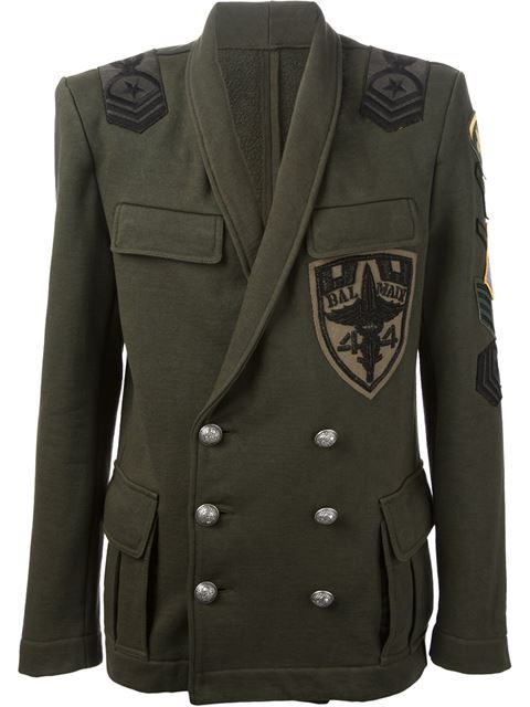 03348526 Shop Balmain military jacket in from the world's best independent boutiques  at farfetch.com. Over 1000 designers from 60 boutiques in one website.