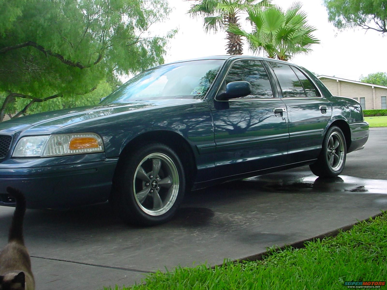 Crown Vic with Bullitt Rims Find the Classic Rims of Your Dreams