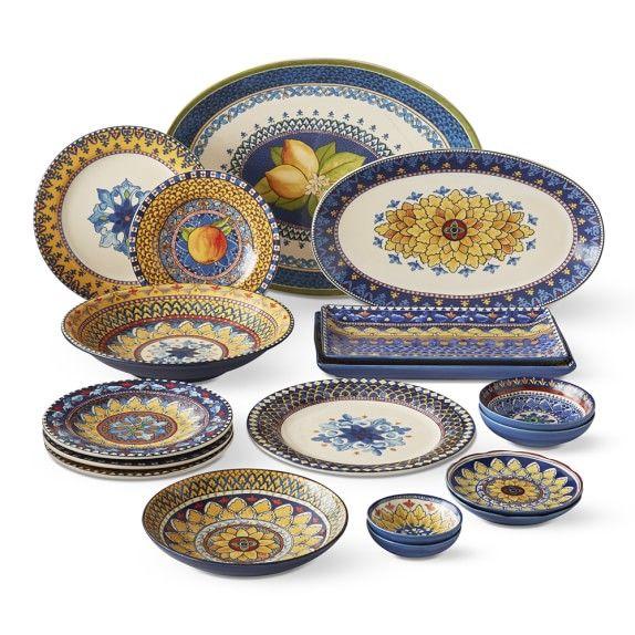 Sicily Dinnerware Collection Tuscan Decorating Tuscan Design Italian Dinnerware