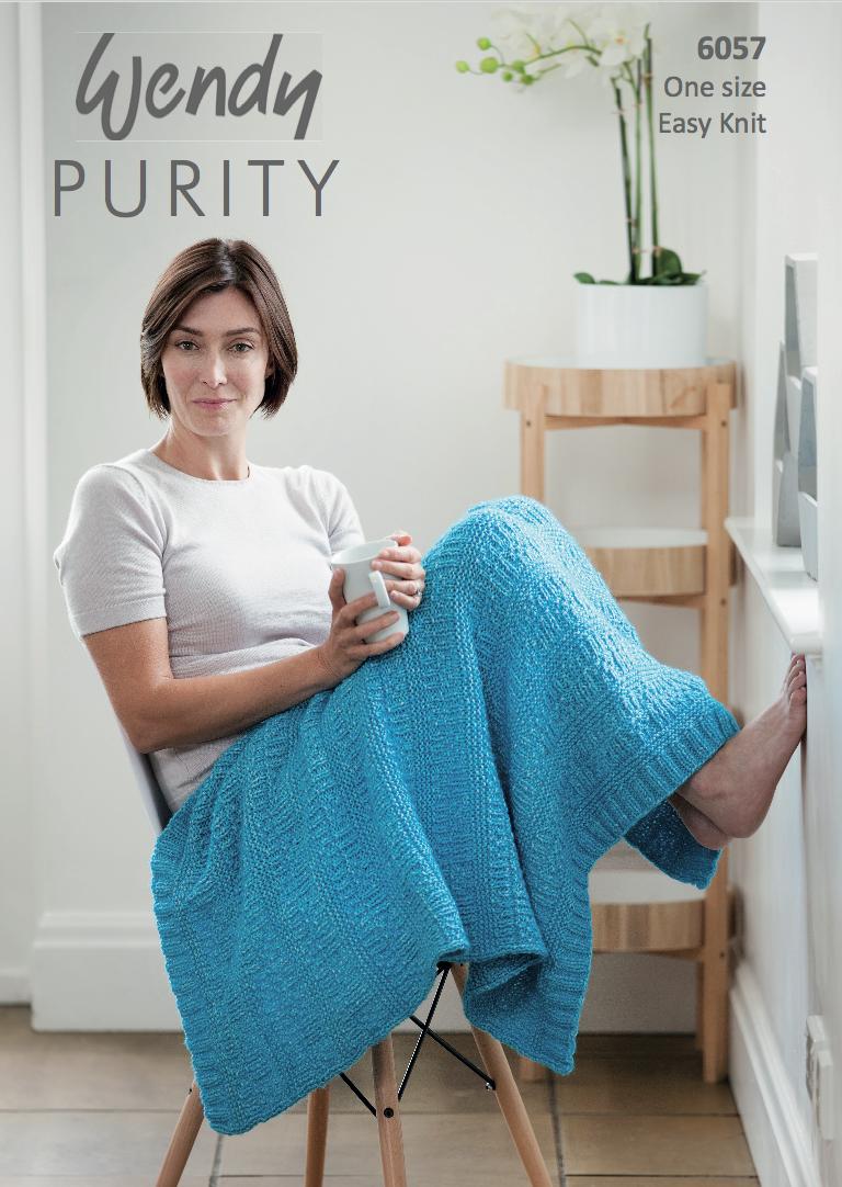 Wendy purity lap throw knitting pattern pdf knitting patterns