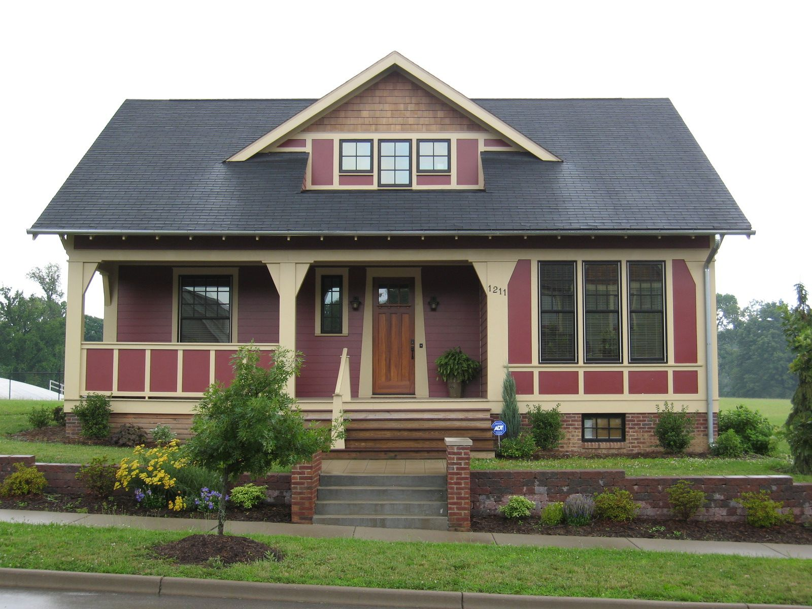 Craftsman bungalow traditional exterior minneapolis by richard - Red Bungalow
