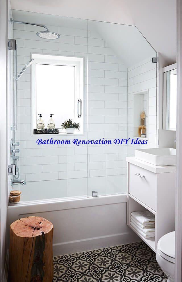 15 diy ideas for bathroom renovations bathroomrenovation on bathroom renovation ideas 2020 id=82496