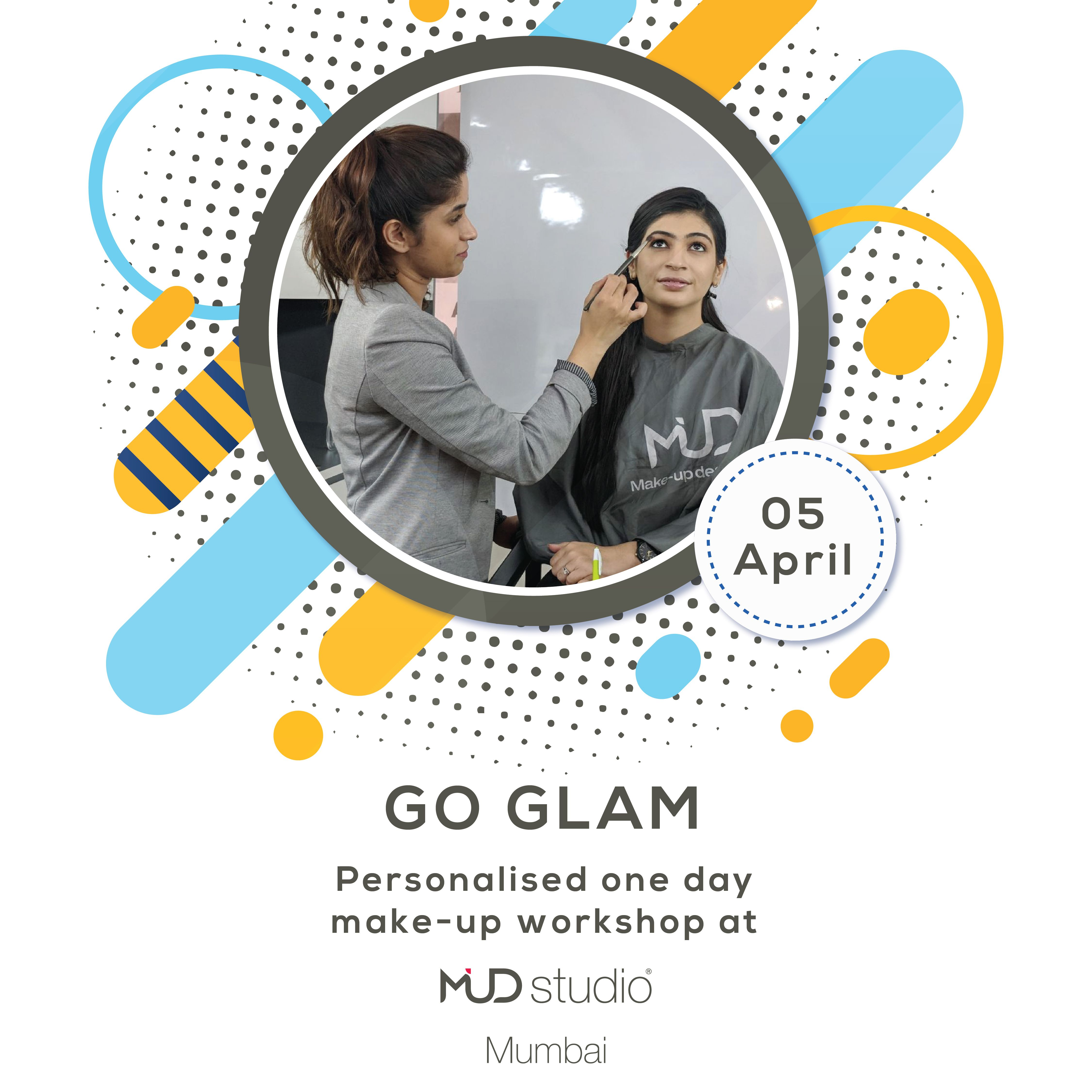 Go Glam. Personalized One Day at Mud Studio