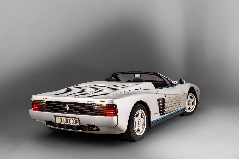 1990 Ferrari Testarossa 180 V12 4 943 Cm 375 Hp Design
