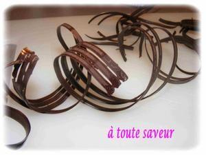 D coration en chocolat trucs et astuces toute saveur for Decoration en chocolat