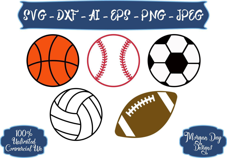 Sport Bundle Svg Bundle Svg Sports Balls Svg Sport Svg Etsy In 2020 Sports Balls Sports Svg Svg